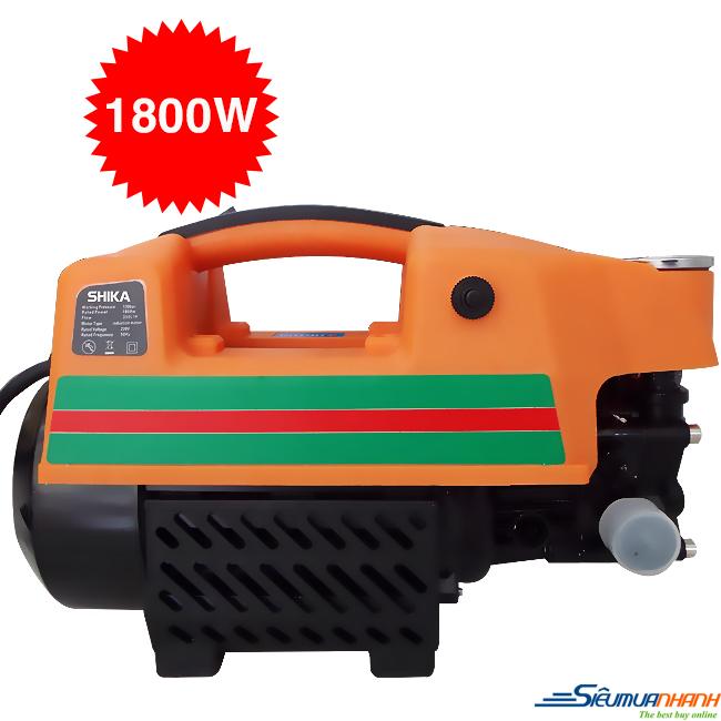 Máy bơm xịt rửa xe Shika SK-2808 (1800W)