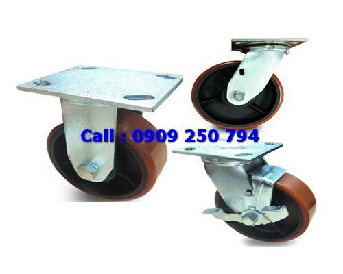 Bánh xe đẩy SP Caster, bánh xe PU, bánh xe Nylon, bánh xe cao su
