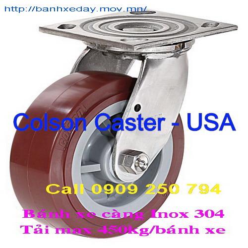 Bánh xe đẩy càng Inox 304 - 4 Series