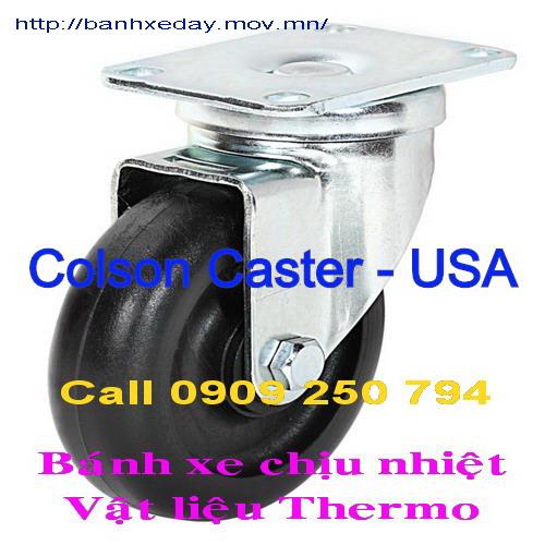 Bánh xe nhựa chịu nhiệt, Bánh xe đẩy chịu nhiệt Thermo Colson