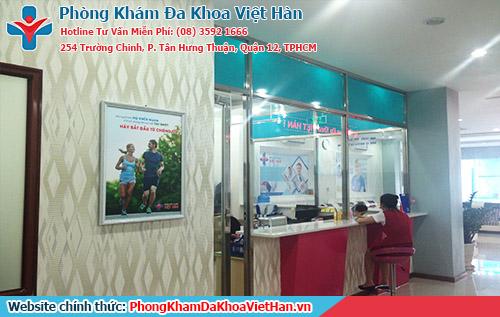 Chữa trị viêm nhiễm phụ khoa tại Bệnh Viện Đa Khoa Việt Hàn