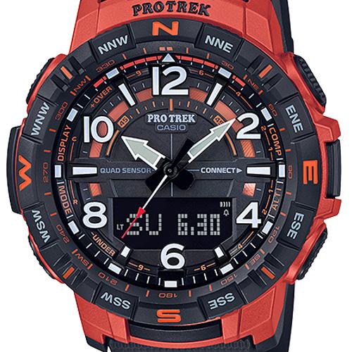 Đồng hồ Casio Pro Trek PRT-B50-4JF dây nhựa