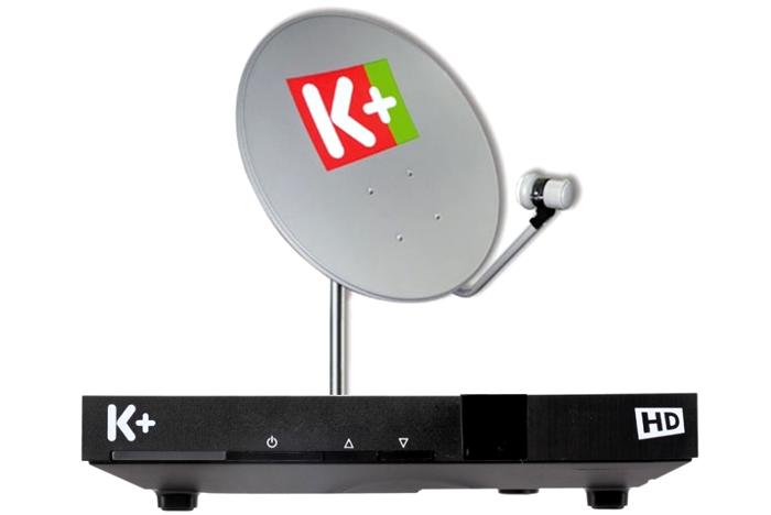 Truyền hình vệ tinh K+ cho mọi nhà