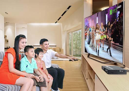 Truyền hình cáp kết nối gia đình