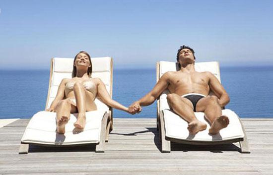 Tắm nắng rất có lợi cho sức khỏe