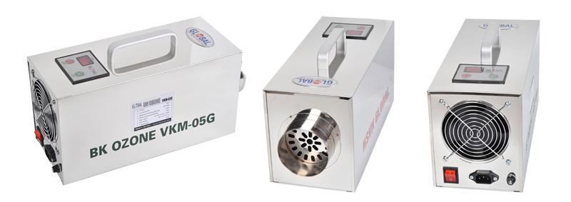 Hình dáng sản phẩm máy khử mùi VKM05