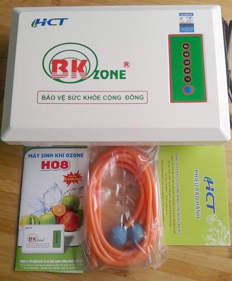 Bộ sản phẩm máy ozone model H08