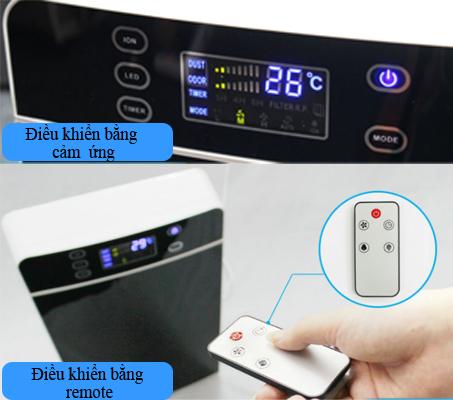 Cách điều khiển máy khử mùi VTL03