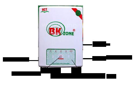 Bên ngoài máy ozone H01