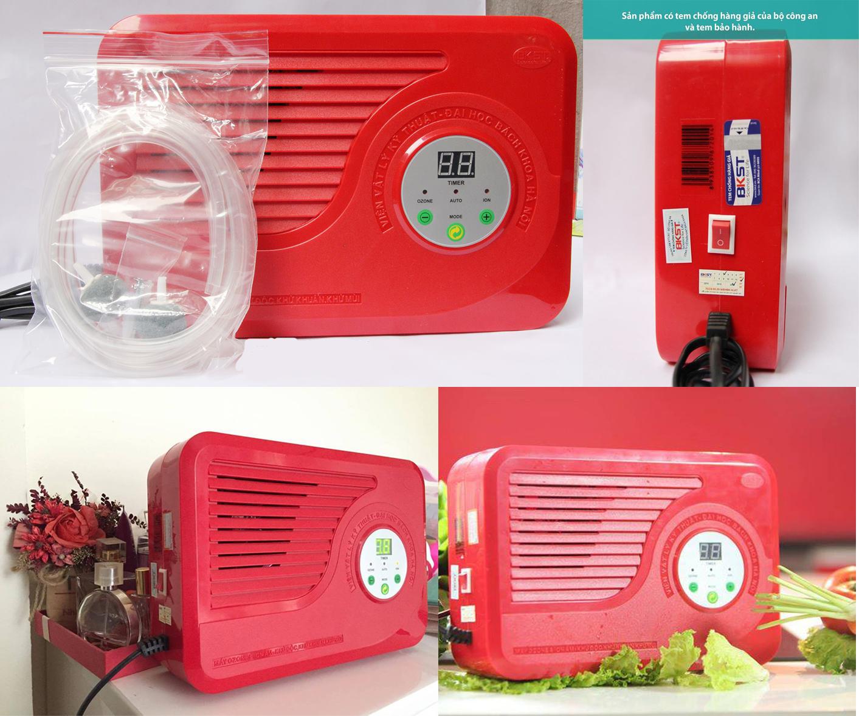 Bộ sản phẩm máy ozone model BKST