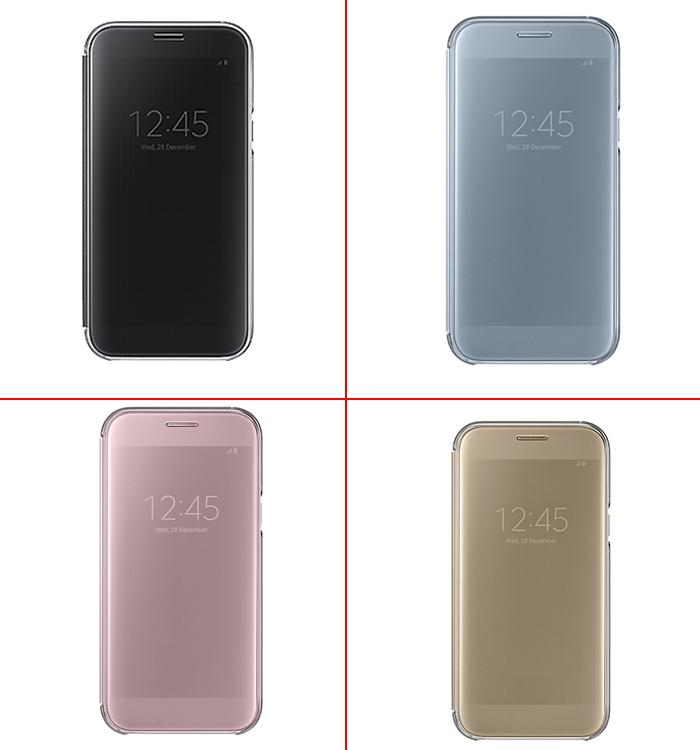 Bao da clear view A7 2017 chính hãng Samsung