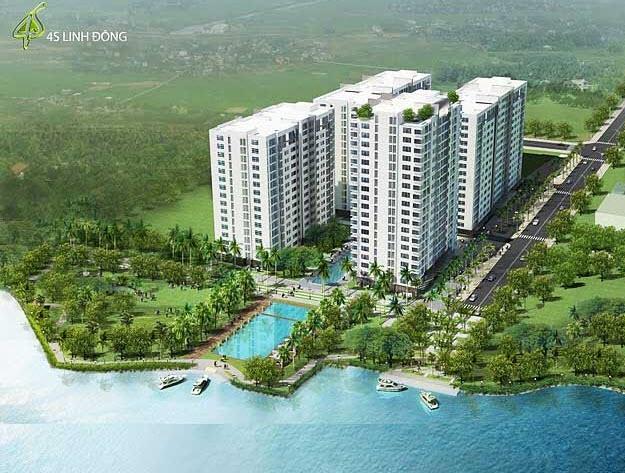 chỉ 300 triệu sở hữu căn hộ ven sông liền kề Phạm Văn Đồng