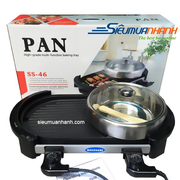 Bếp lẩu nướng đa năng Holtashi PAN SS-46