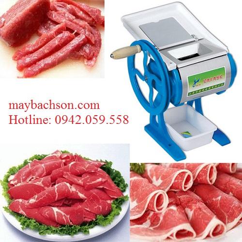 Máy thái thịt bò giá rẻ