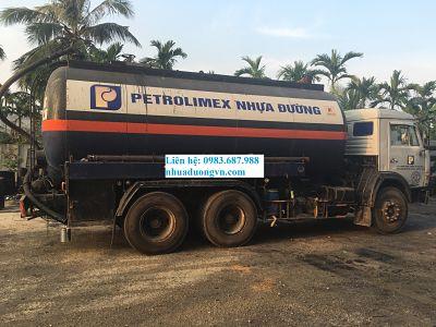 Nhựa đường đặc nóng Petrolimex