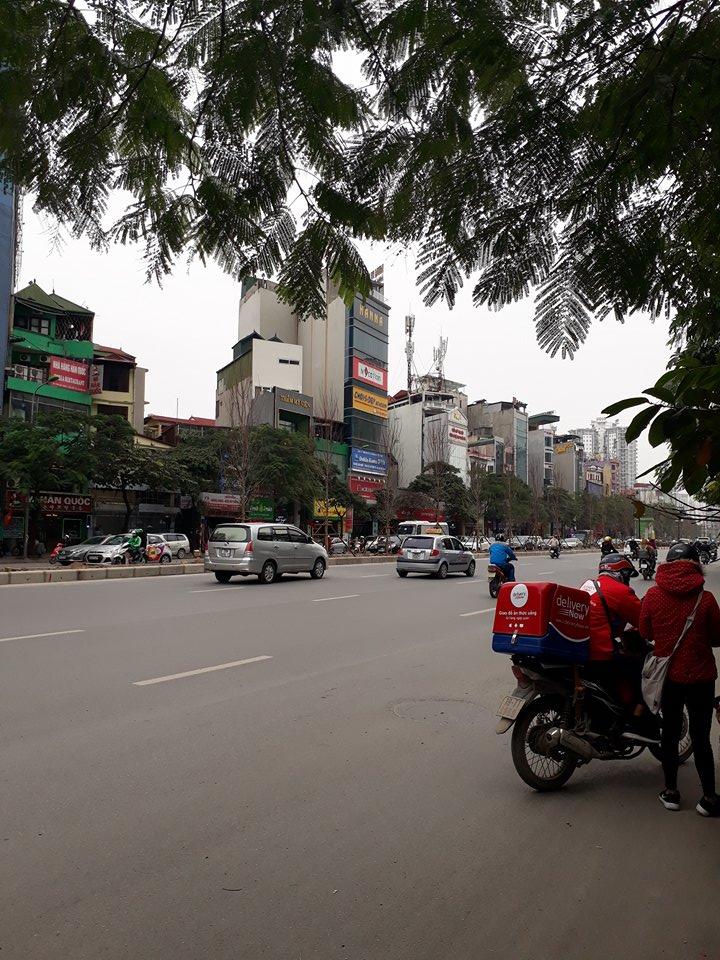 Cho thuê nhà 5 tầng mặt phố Trần Duy Hưng