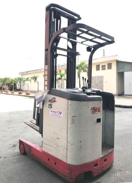 mặt sau Xe nâng điện đứng lái NICHIYU FBRM15-75 1,5 tấn sx 2007