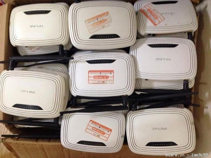 Thanh lý wifi cũ, switch cũ - bán bộ phát wifi cũ giá rẻ