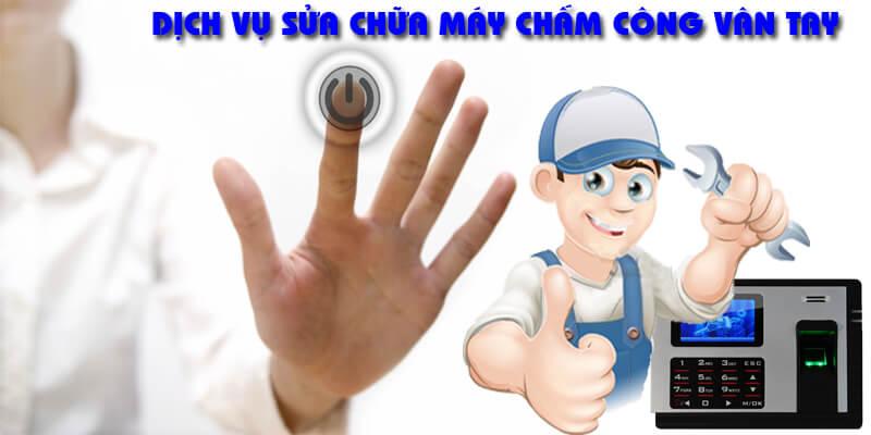 Dịch vụ lắp đặt và sửa chữa máy chấm công vân tay giá rẻ tại Hà Nội