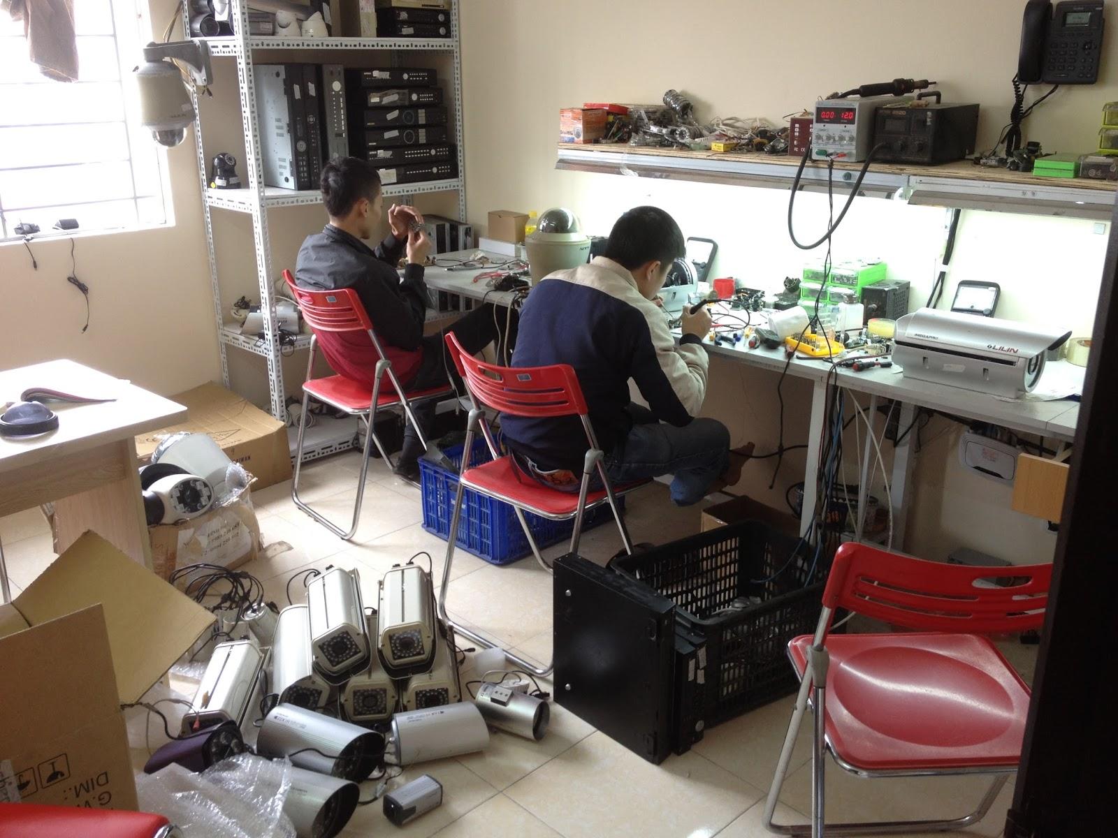 Nhận sửa chữa camera quan sát tại Hà Nội giá rẻ