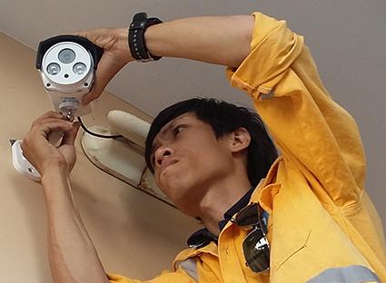 Lắp đặt camera quan sát tại quận Hoàng Mai