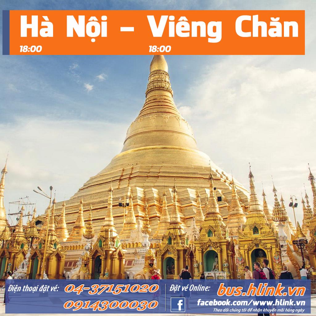 Vé Xe khách từ Hà Nội đi Viêng Chăn