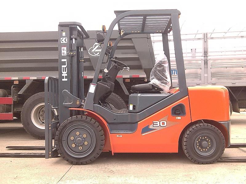 Xe Nâng Diesel HELI 2-3.5 Tấn