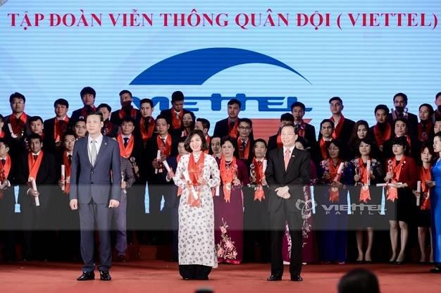 Viettel tiếp tục vào Top dẫn đầu Thương hiệu mạnh Việt Nam