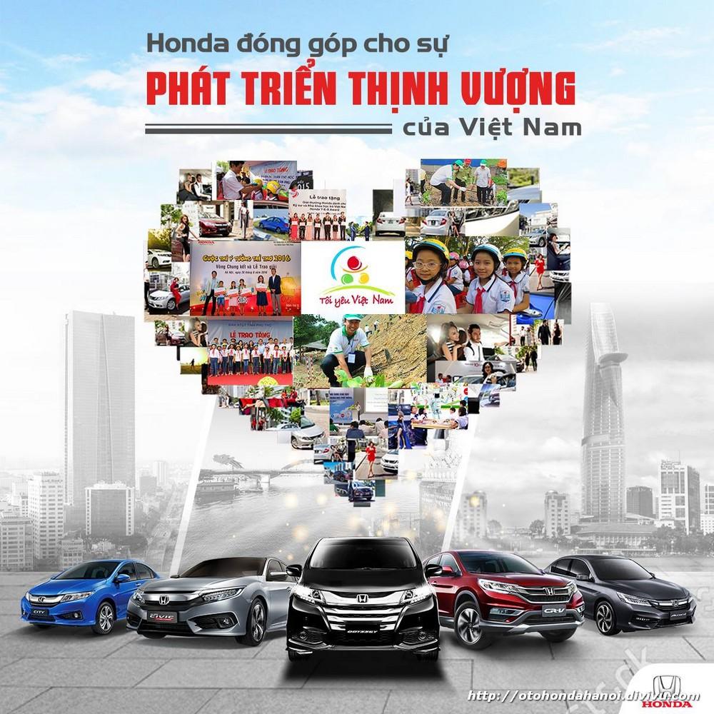 Honda -  Đóng góp vào sự phát triển thịnh vượng của người Việt