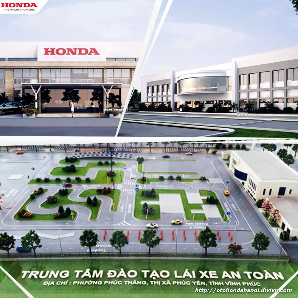 Công ty Honda Việt Nam chuẩn bị đưa vào hoạt động Trung tâm Lái xe an toàn