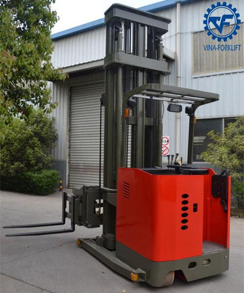 Xe nâng điện 1 tấn 3 chiều TC