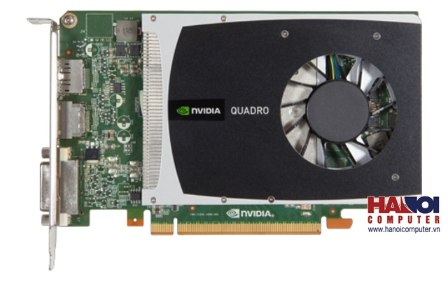 VGA Card nVidia Quadro 2000 1GB GDDR5 - 128bit (Tray)