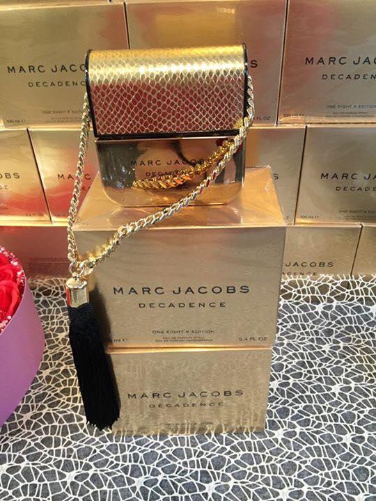 Marc Jacobs Decadence (Phiên bản mạ vàng 18k)