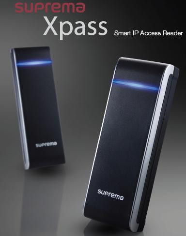 Kiểm soát vào ra bằng thẻ SUPREMA Xpass XPE