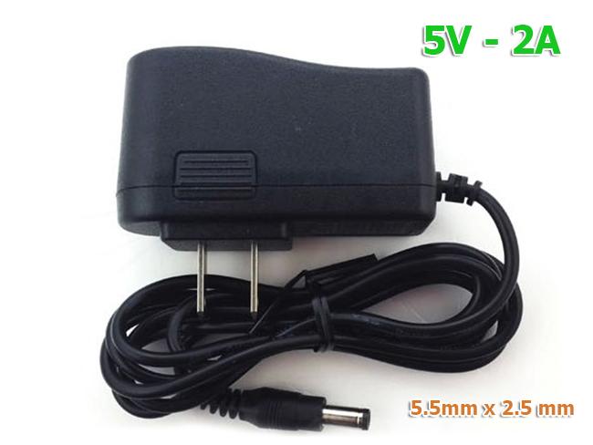 Nguồn 5V-2A sử dụng cho camera WIFI Robot