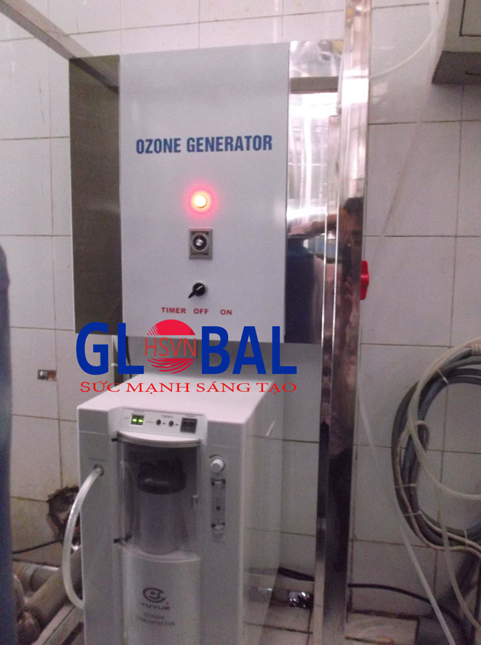 máy ozone xử lý nước uống