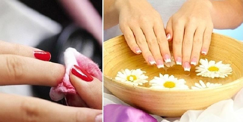 Khử mùi sơn móng tay