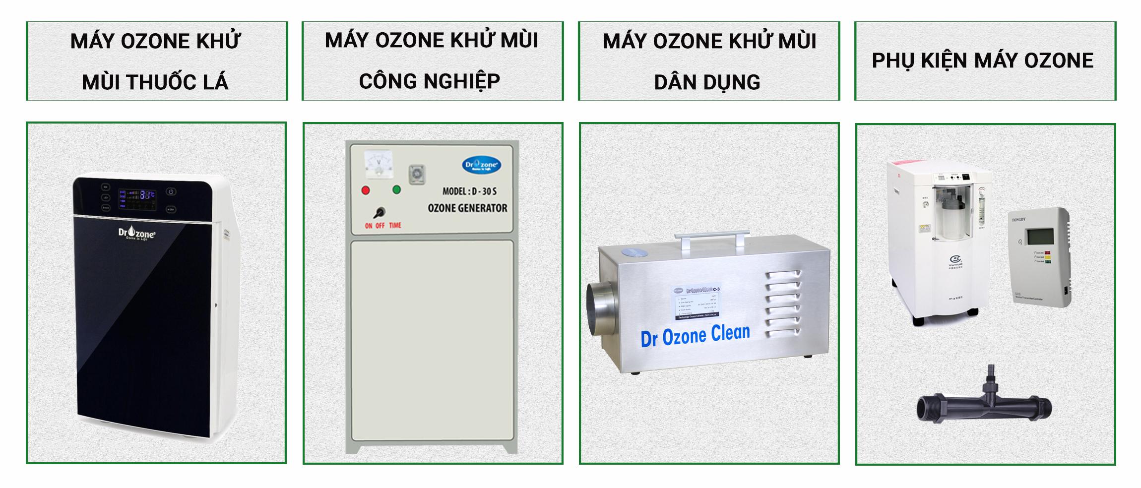 sản phẩm máy ozone được cung cấp bởi HSVN Global