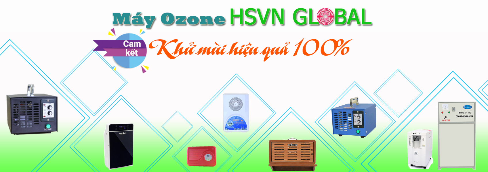 Máy ozone khử mùi hiệu quả - chính hãng tại Việt Nam