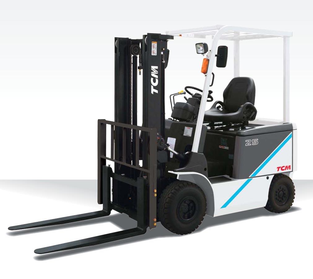 Xe nâng điện TCM 2500kg thương hiệu Nhật Bản