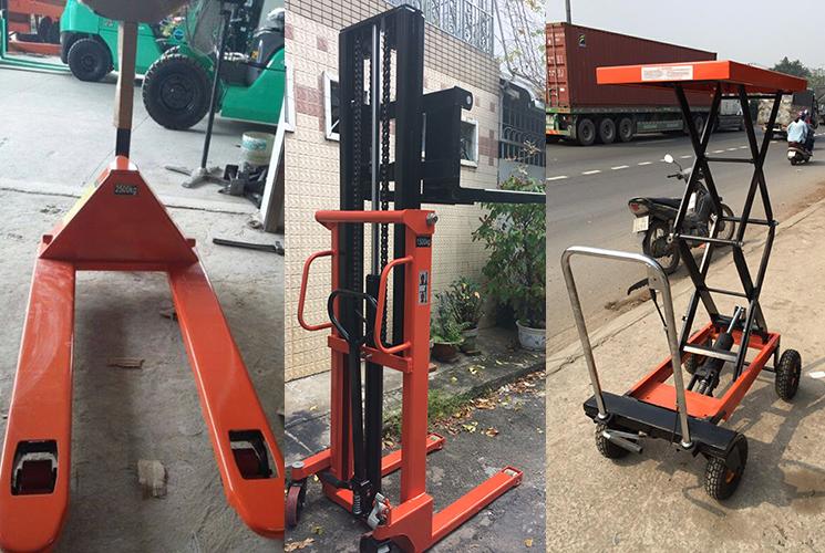 Xe nâng hàng bằng tay xuất xứ Trung Quốc