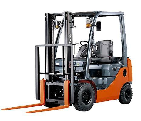 Xe nâng dầu Toyota 8FD15