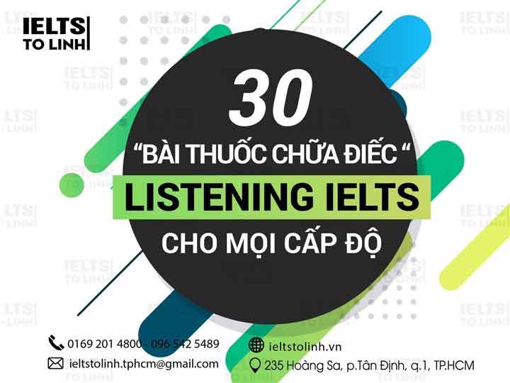 30 bài thuốc chữa điếc listening