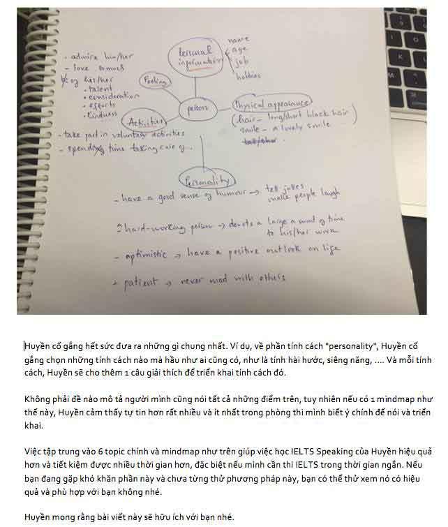 IELTS Speaking Part 2 - 6 topic chính