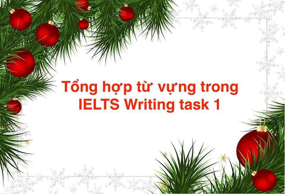 Từ vựng - Điểm mấu chốt của Writing task 1