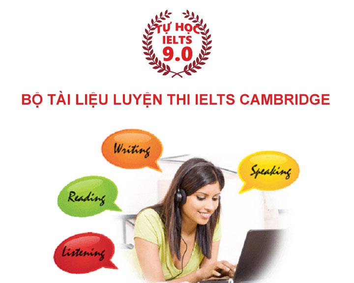 Bộ tài liệu luyện thi IELTS Cambridge