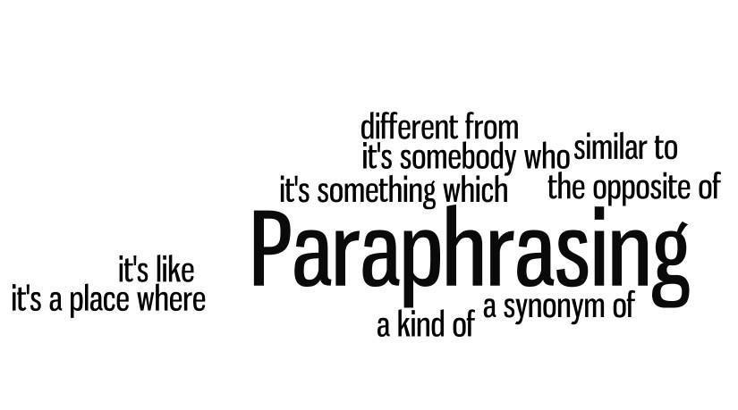 """5 BƯỚC ĐƠN GIẢN """"PARAPHRASE"""" ĐỀ WRITING HIỆU QUẢ"""