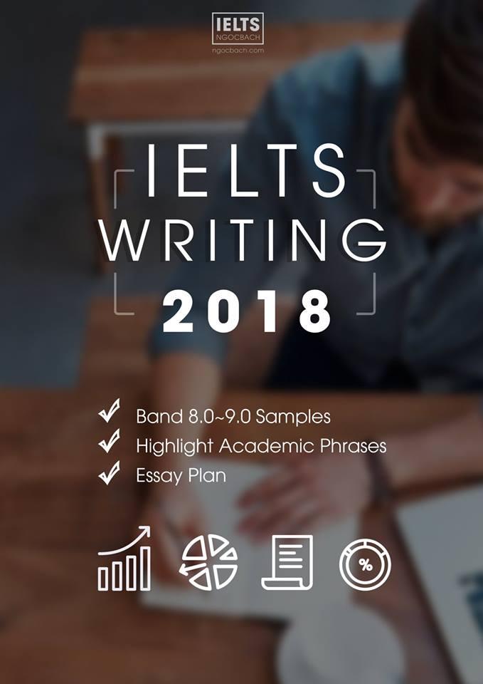 (Must-have ielts book): Sách ielts writing 2018 by ngocbach chính thức ra mắt