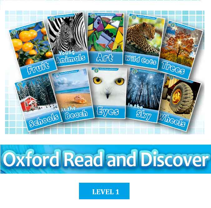 OXFORD Read and Discover (level 1,2,3)