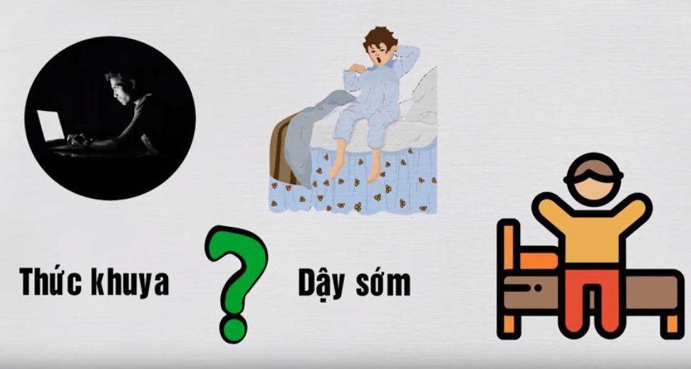 Làm sao để ngủ ít mà không mệt?